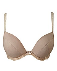 Plunge Wired Curve Enhancer Natural Bra