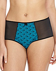 Teal Print Full Briefs