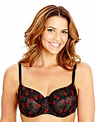 Shapely Figures Black Opal Balcony Bra