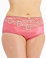 2 Pack Ella Lace Rose/Purple Shorts