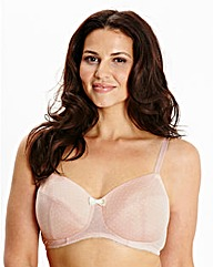 2 Pack Full Cup NonWired Pink White Bras