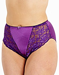 2 Pack Ella Rose/Purple Briefs
