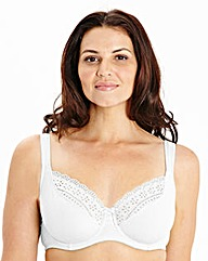 2 Pack Full Cup Wired Black White Bras