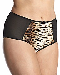 High Waist Tiger Briefs