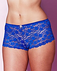Daisy Lace Cobalt Shorts