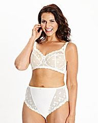 Full Cup Non Wired Cream Bra