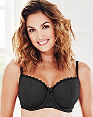 2 Pack Balcony Wired Black/White Bras