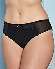 Low Rise Embroidered Briefs