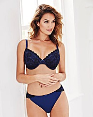 2 Pack Plunge Wired Natural/Navy Bras
