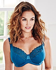 2 Pack Jane Full Cup Natural/Teal Bras
