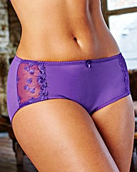 2 Pack Ava Black/Purple Shorts