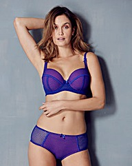 Cobalt Geo Mesh Wired Bra