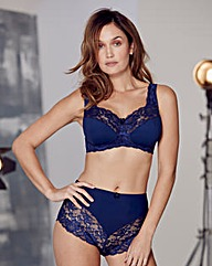 2Pack Ella Non Wired Aqua/Navy Bra