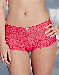 Daisy Lace Hot Pink Shorts