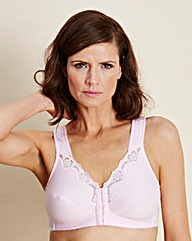 Rose Two Pack Sarah FrontFastening Bras