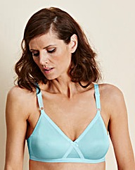 Blue Four Pack Claire Non Wired Bras