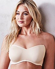 Natural Moulded Bandeau Bra