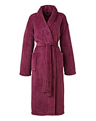 Pretty Secrets Fluffy Fleece Gown 42in