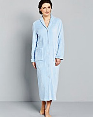 Pretty Secrets Fleece Button Gown 48in
