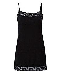 Black - Lace Trim Camisole