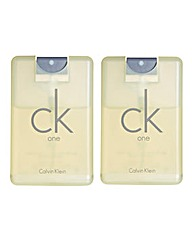 CK One 20ml EDT BOGOF