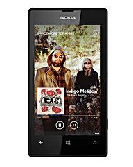 Vodafone Lumia 520 Faith Black Mobile