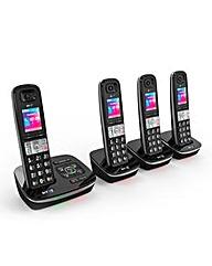 BT8500 Quad Cordless Phone