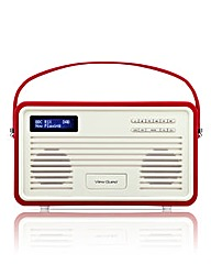 View Quest Colourgen Retro Radio 8 Pin