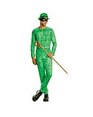 Mens Batman Green Riddler Costume