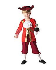 Peter Pan Captain Hook Costume