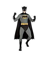 Adult 2nd Skin Batman Jumpsuit