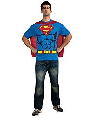 Mens Printed Superman T-shirt