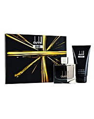 Dunhill Black 2 pc Edt Gift Set for Him