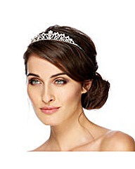Jon Richard Crystal Flower Tiara