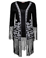 Joe Browns Fringed Kimono