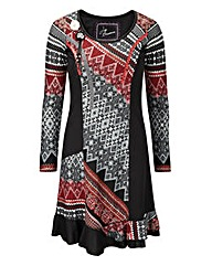 Joe Browns Red Square Dress