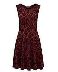 Joe Browns Flocked Skater Dress