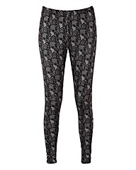 Joe Browns Luscious Lace Print Leggings