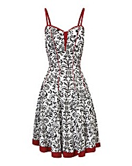 Joe Browns Fleur De Lys Print Dress