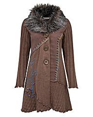 Joe Browns Fur Collar Coatigan