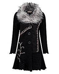 Joe Browns Fur Collar Coatigan