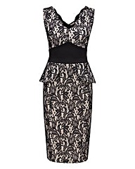 Joe Browns Lace Peplum Dress
