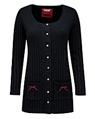 Joe Browns Velvet Trim Cardigan