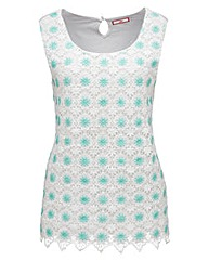 Joe Browns Lacy Daisy Vest Top