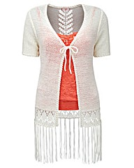 Joe Browns Festival Fringe Cardigan