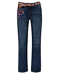 Joe Browns Embroiderd Boyfriend Jean