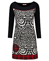 Joe Browns A Touch Of Red Tunic