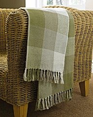 Country Check Throws Pack Of 2
