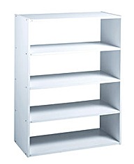 Bespoke Modular Storage - 4 Shelf