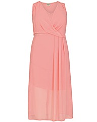 emily Wrap Front Dress